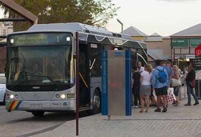 Fremantle Cat Bus Stops
